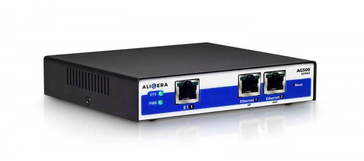 Aligera AG561 - Compact E1 SIP Gateway