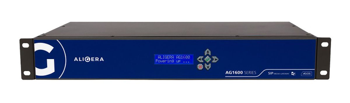 Aligera AG1600 - High Density SIP E1 Gateway